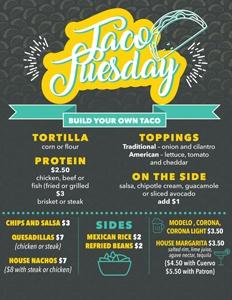 Gilhooley's Tuesday Specials